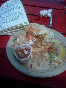 Fish Tacos at Berth 55