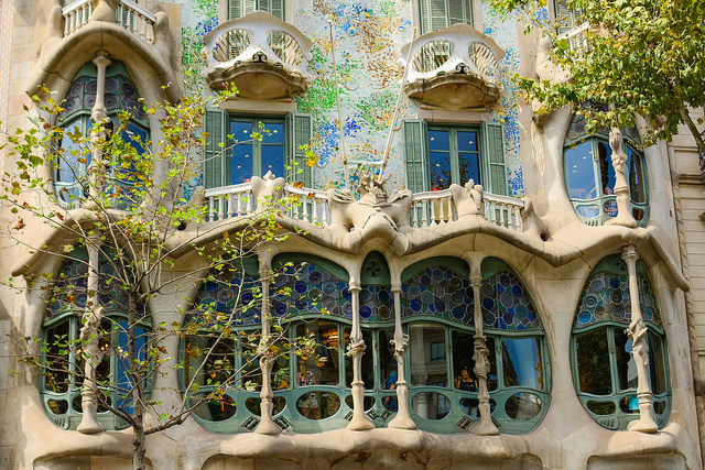 Photo Credit: Joseph Lapin. Gaudi.