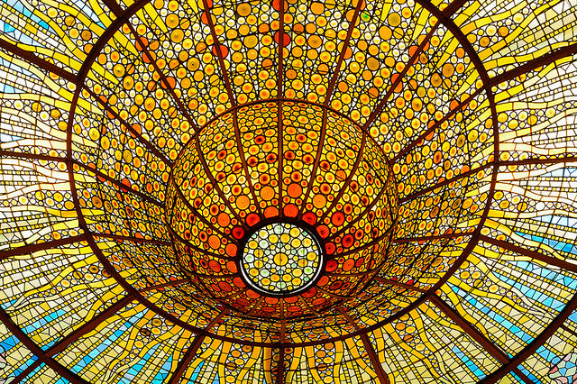 The Palau de la Música Catalana. Photo Credit: Joseph Lapin