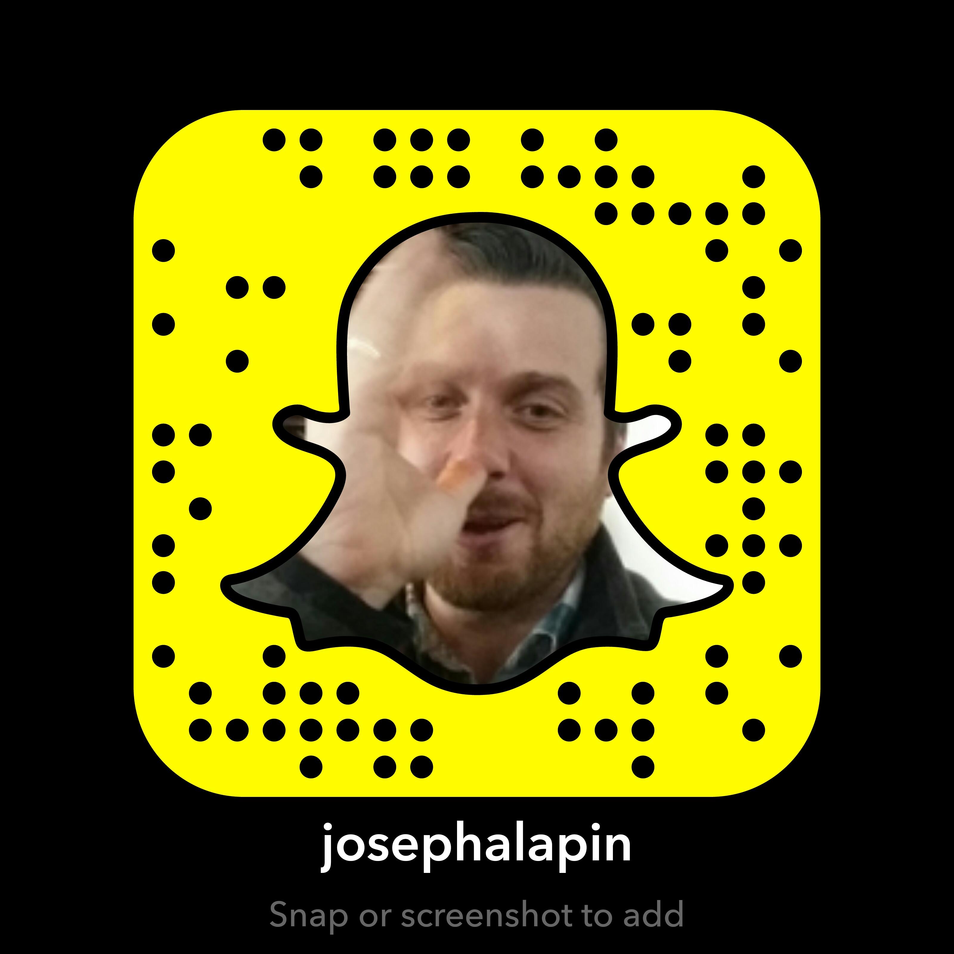 Joseph A Lapin on Snapchat