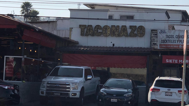Taconazo in Tijuana